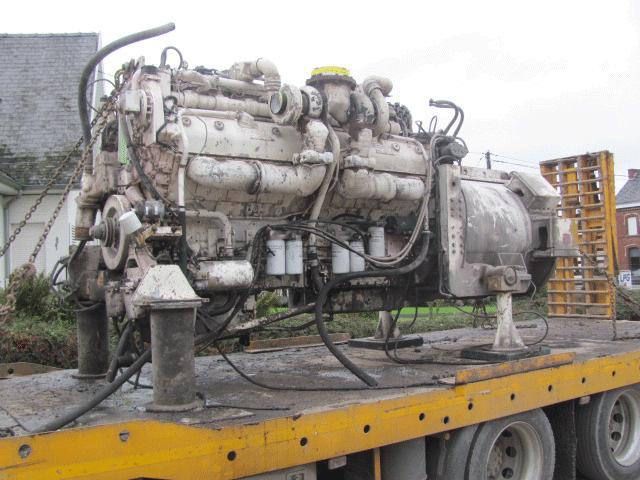 Крепление двигателя на стойках